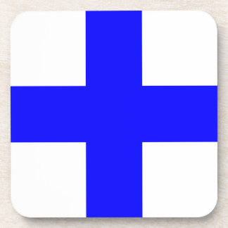 XRAY BLUE CROSS COASTER