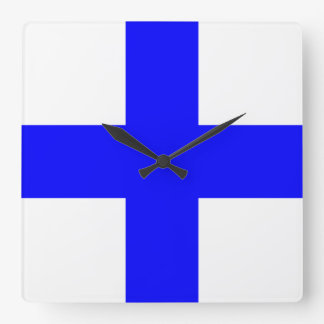 XRAY BLUE CROSS WALL CLOCKS