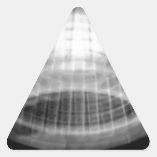 xray dreams triangle sticker