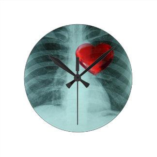 Xray Heart Clock