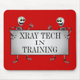 Xray In Training Mouse Pad