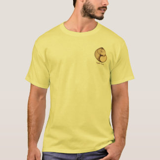 Xray photo of Fresh Water Pond Snail (Apple Snail) T-Shirt