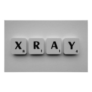 XRAY POSTER