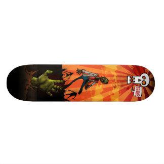 Xray Zombie Brains Skateboard