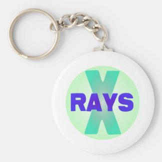 xrays basic round button key ring
