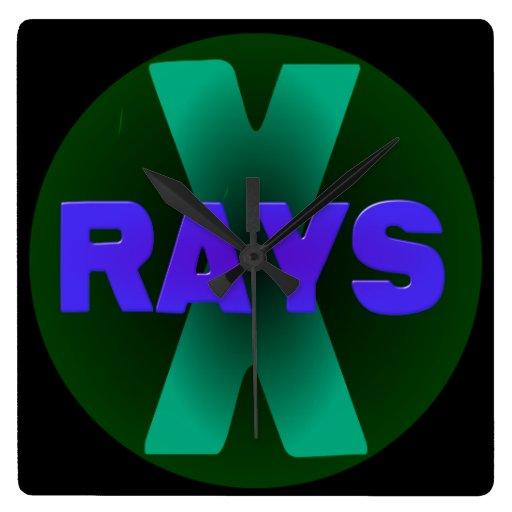 xrays wall clock