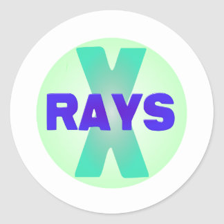 xrays round stickers