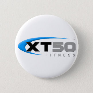 XT50 Fitness Online Workouts 6 Cm Round Badge