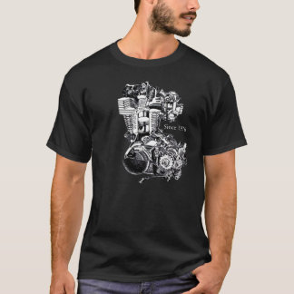 XT 500 Engine T-Shirt