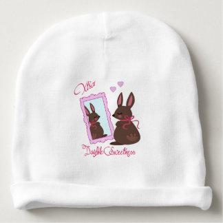 Xtra Double Sweetness Rabbit Looking In Mirror Baby Beanie