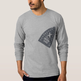 Xtreme Iron Burn 7 American Apparel Long Sleeve Tshirts