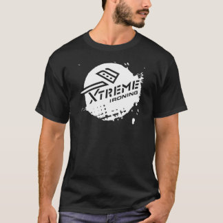 Xtreme Ironing Basic Black T-shirt