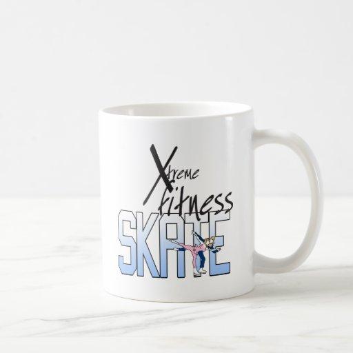 XtremeFitness-Skate Basic White Mug