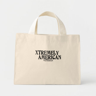 Xtremely American veteran Tote Bags