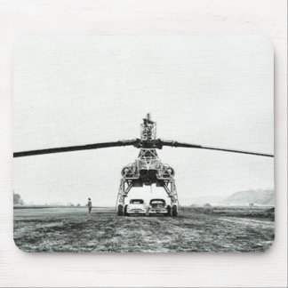 XV-17 Hughes Heavy Lift Helicopter Mouse Pad