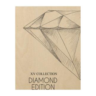 XV DIAMOND EDITION IV WOOD CANVASES