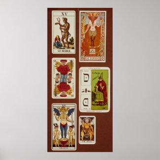 XV The Devil Poster