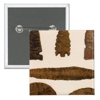 XVI Stone implements, New Mexico 15 Cm Square Badge