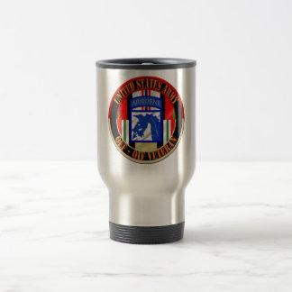 XVIII 18th Airborne Corps OEF OIF Veteran Travel Mug