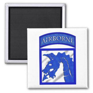 XVIII 18th Airborne CORPS Square Magnet