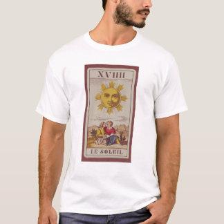 XVIIII Le Soleil, French tarot card of the Sun T-Shirt