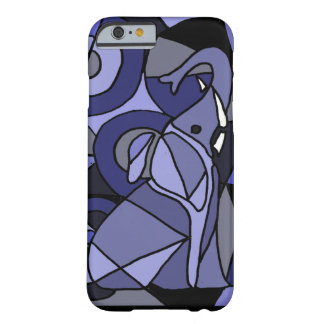 XW- Abstract Art Elephant Design Barely There iPhone 6 Case