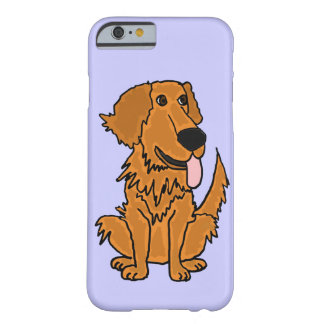 XW- Funny Golden Retriever Dog Design Barely There iPhone 6 Case