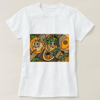 XX- Abstract Art Squirrels T-Shirt