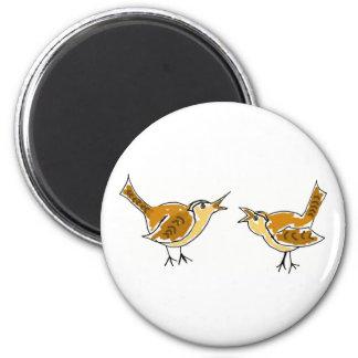 XX- Artistic Wrens Magnet