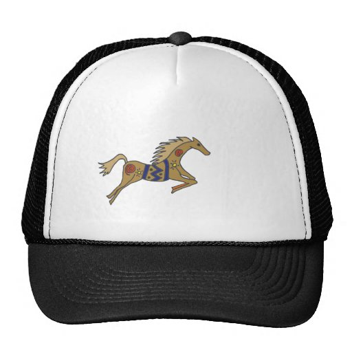 XX- Artisting Leaping Horse Trucker Hats