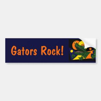 XX- Awesome Alligator Art Bumper Stickers