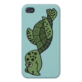 XX- Awesome Sea Turtle Cover For iPhone 4