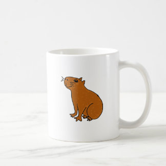 XX- Capybara Art Coffee Mug