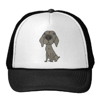 XX- Cute Weimaraner Design Cap