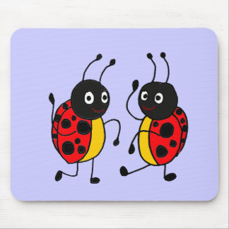 XX- Dancing Ladybugs Mouse Mat
