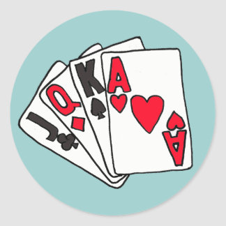XX- Deck Of Cards Stickers
