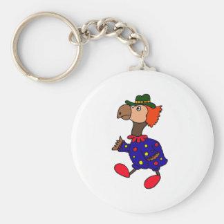 XX- Dodo Bird Clown Design Keychains