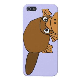 XX- Duck Billed Platypus Cartoon Case For iPhone 5/5S
