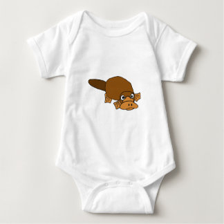 XX- Duck Billed Platypus Cartoon Infant Creeper