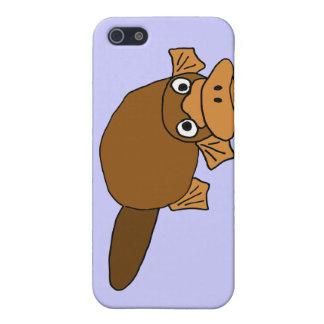 XX- Duck Billed Platypus Cartoon iPhone 5 Cover