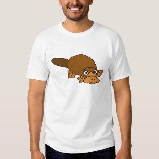XX- Duck Billed Platypus Cartoon Shirts