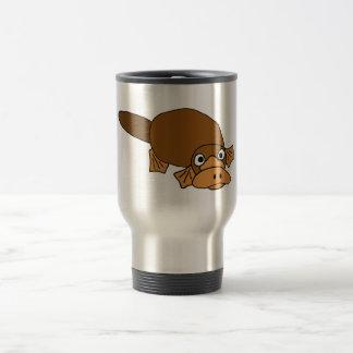 XX- Duck Billed Platypus Cartoon Stainless Steel Travel Mug