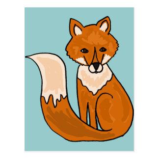 XX- Foxy Fox Postcards