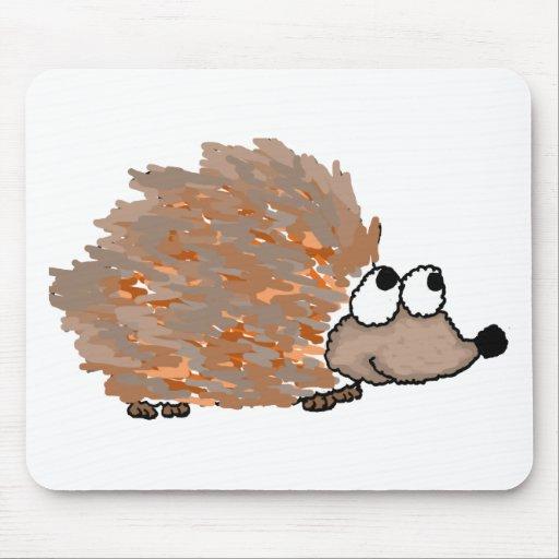 XX- Funky Hedgehog Mousepads