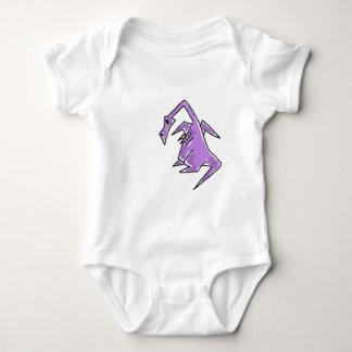 XX- Funky Purple Dragon Baby Bodysuit