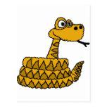 XX- Funky Rattlesnake Cartoon