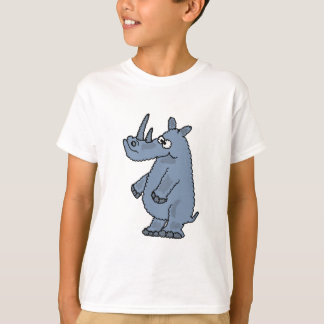 XX- Funky Rhino Cartoon T-Shirt