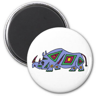XX- Funky Rhino Magnet