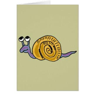 XX- Funky Snail Card