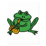 XX- Funny Frog Playing Saxophone